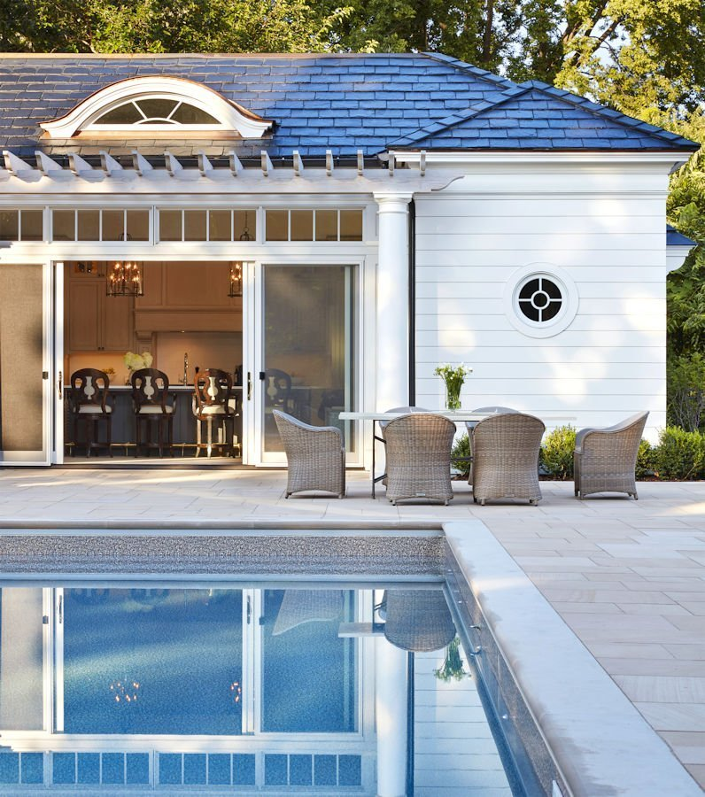 Crocus Hill Pool House design