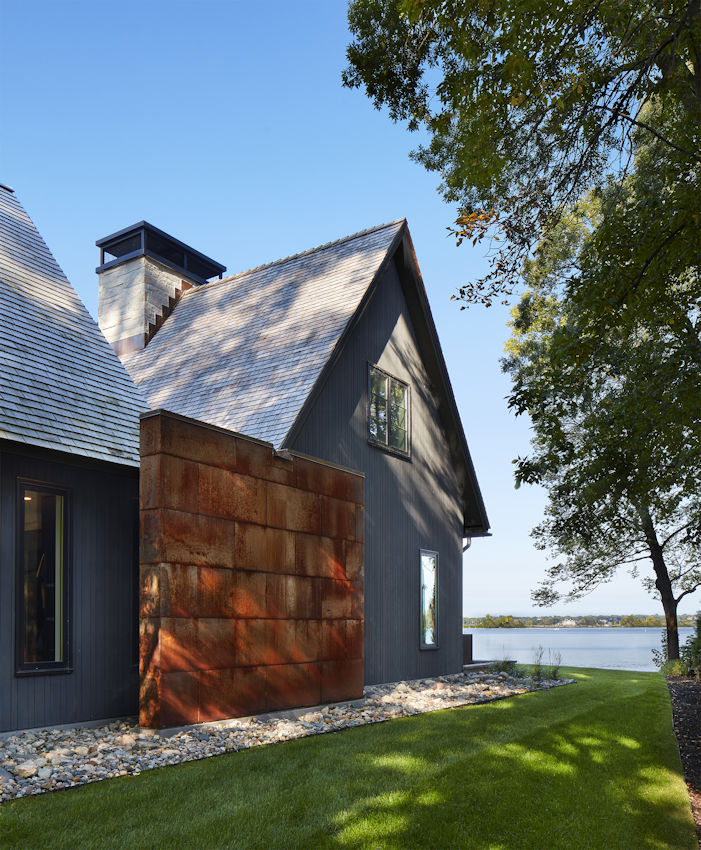 Lake Minnetonka Modern Salt Box
