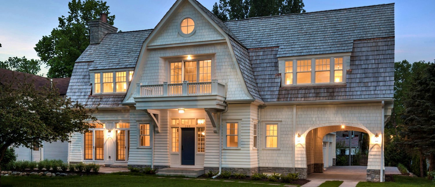 Excelsior Shingle Style home