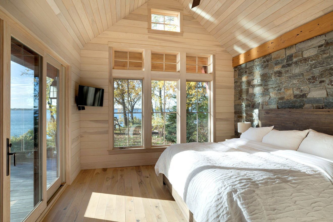 Green Lake Cottage master bedroom