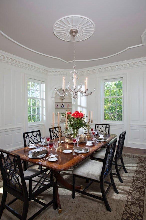 Longfellow Renovation dining room