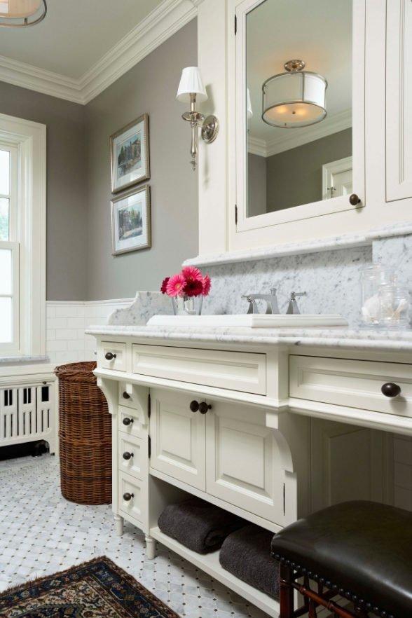 Longfellow renovation master bath