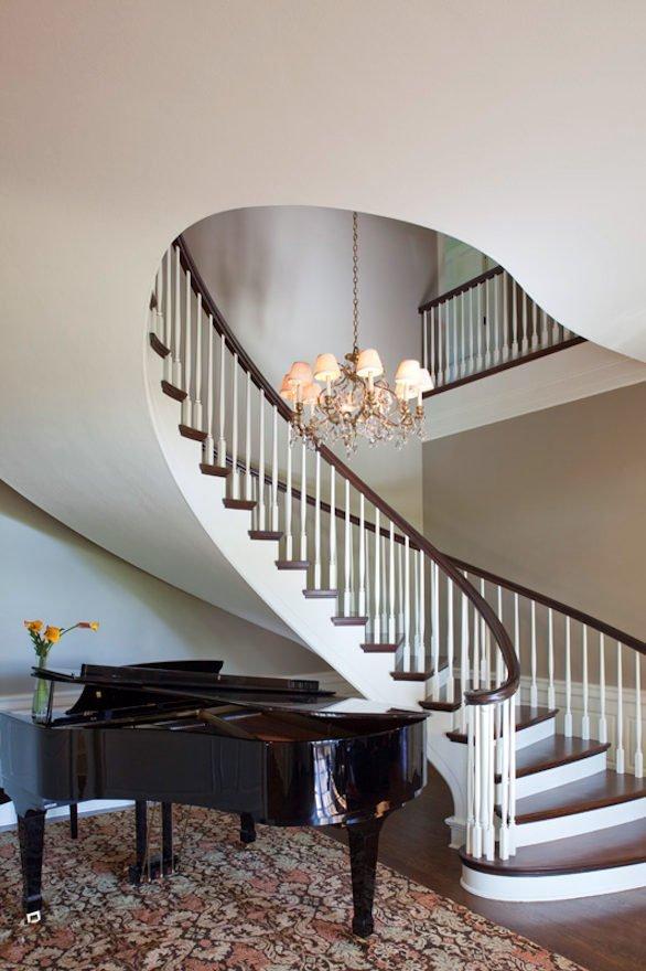 Longfellow renovation stairway