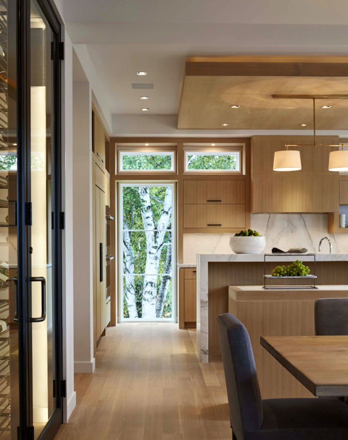 Minnetonka Modern kitchen