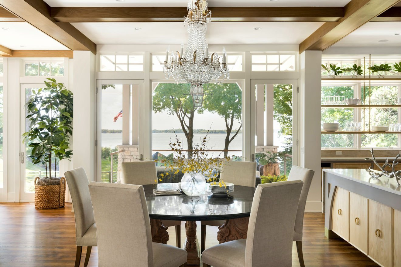 Minnetonka Transitional dining room