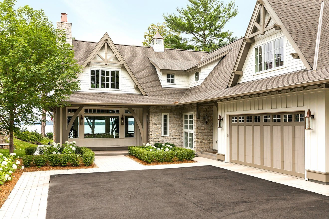 Minnetonka Transitional style home design