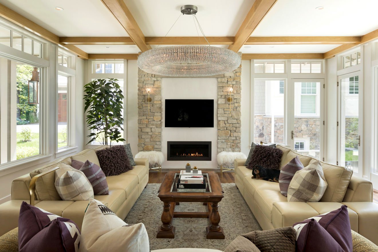 Minnetonka Transitional family room