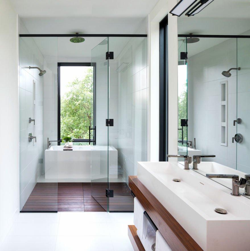 Mississippi Modern master bath