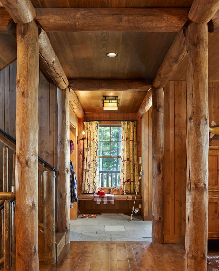 Northern Wisconsin Retreat hallway