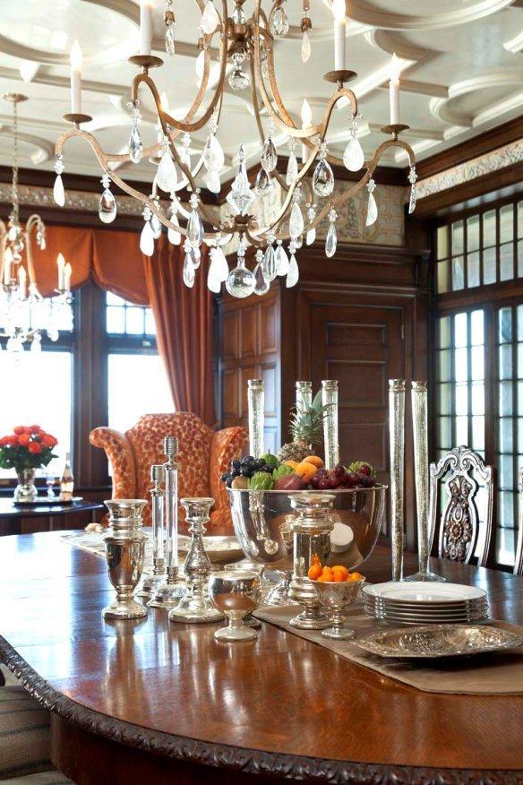Weyerhaeuser Transformation breakfast dining room