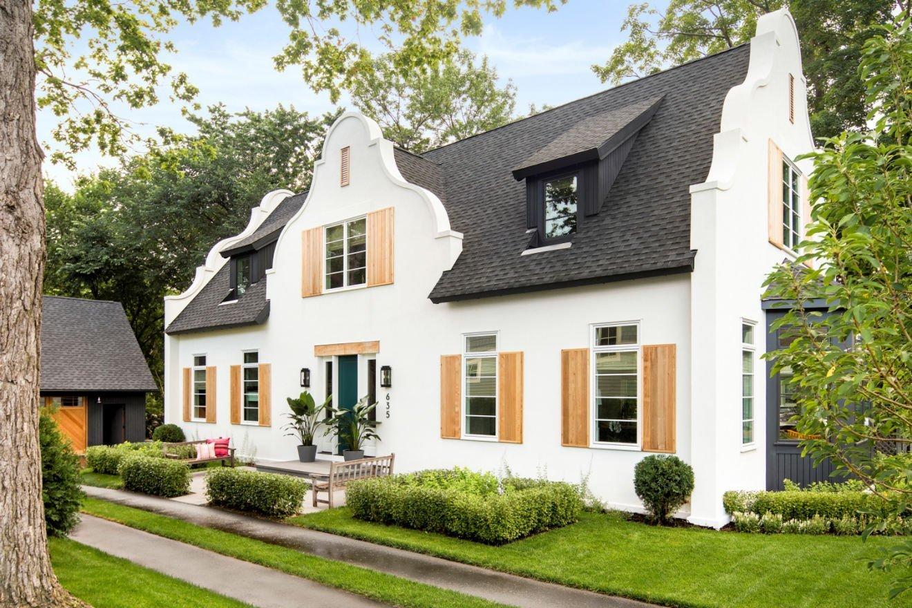 Cape Dutch Modern style home