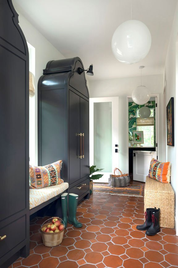 Cape Dutch Modern washroom