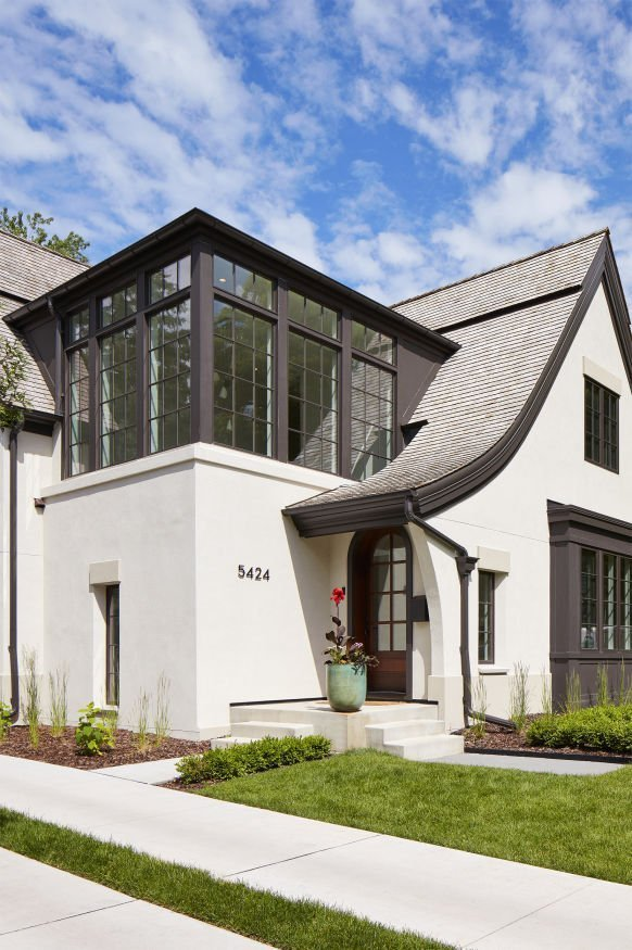 Modern Scottish Cottage by Charlie & Co Design