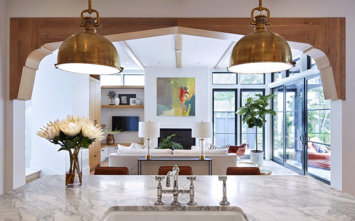 Modern Scottish Cottage great room
