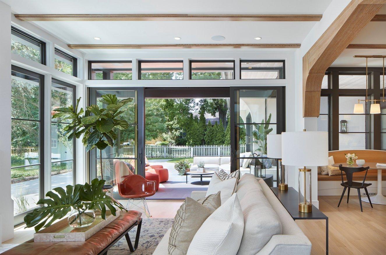 Modern Scottish Cottage living room
