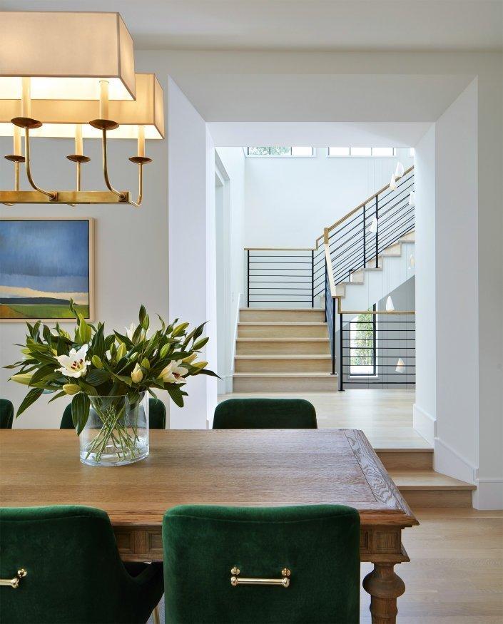 Modern Scottish Cottage dining room