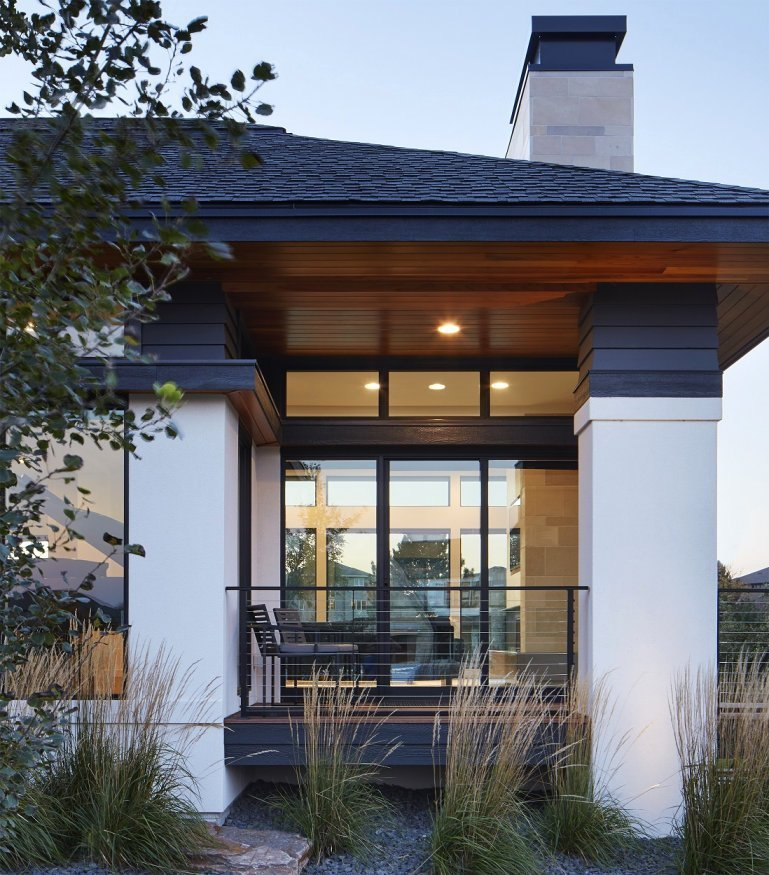 Sioux Falls Modern style home by Colby Mattson
