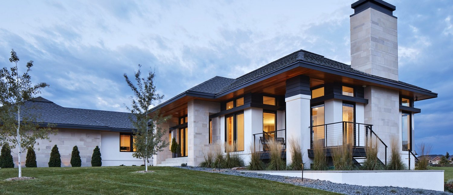 Sioux Falls Modern style home