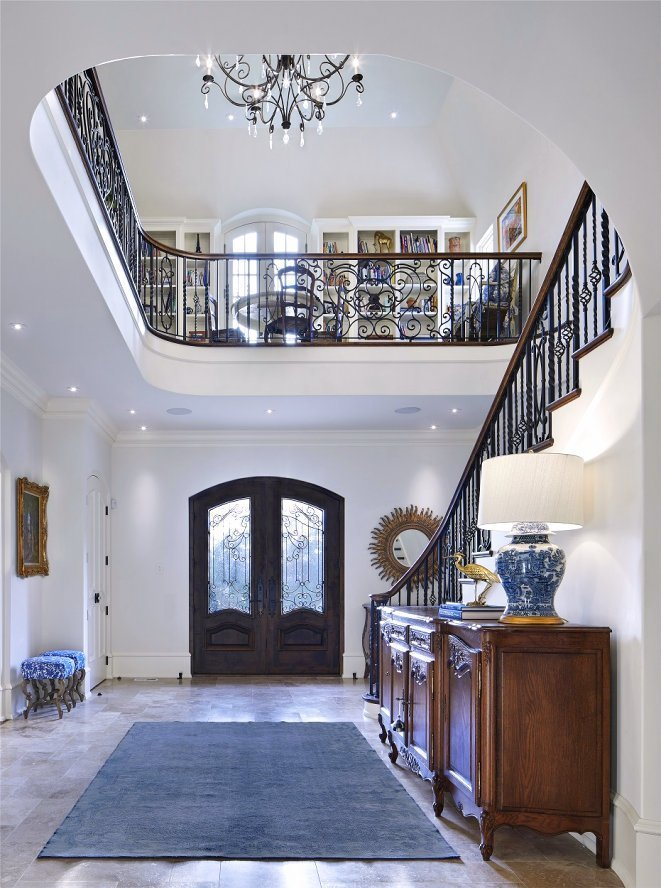 St. Paul French Country foyer