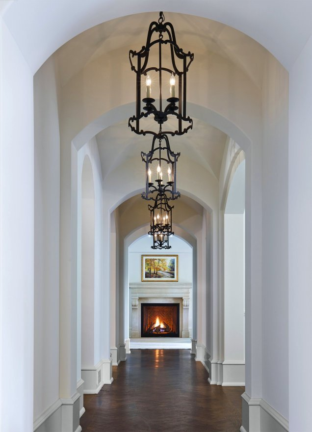 St. Paul French Country hallway