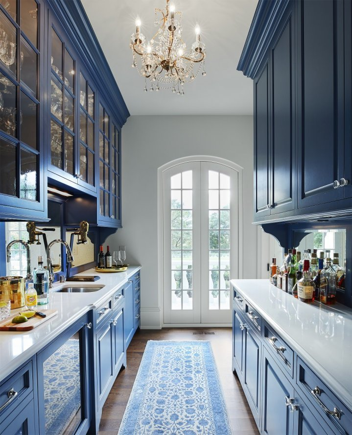 St. Paul French Country pantry