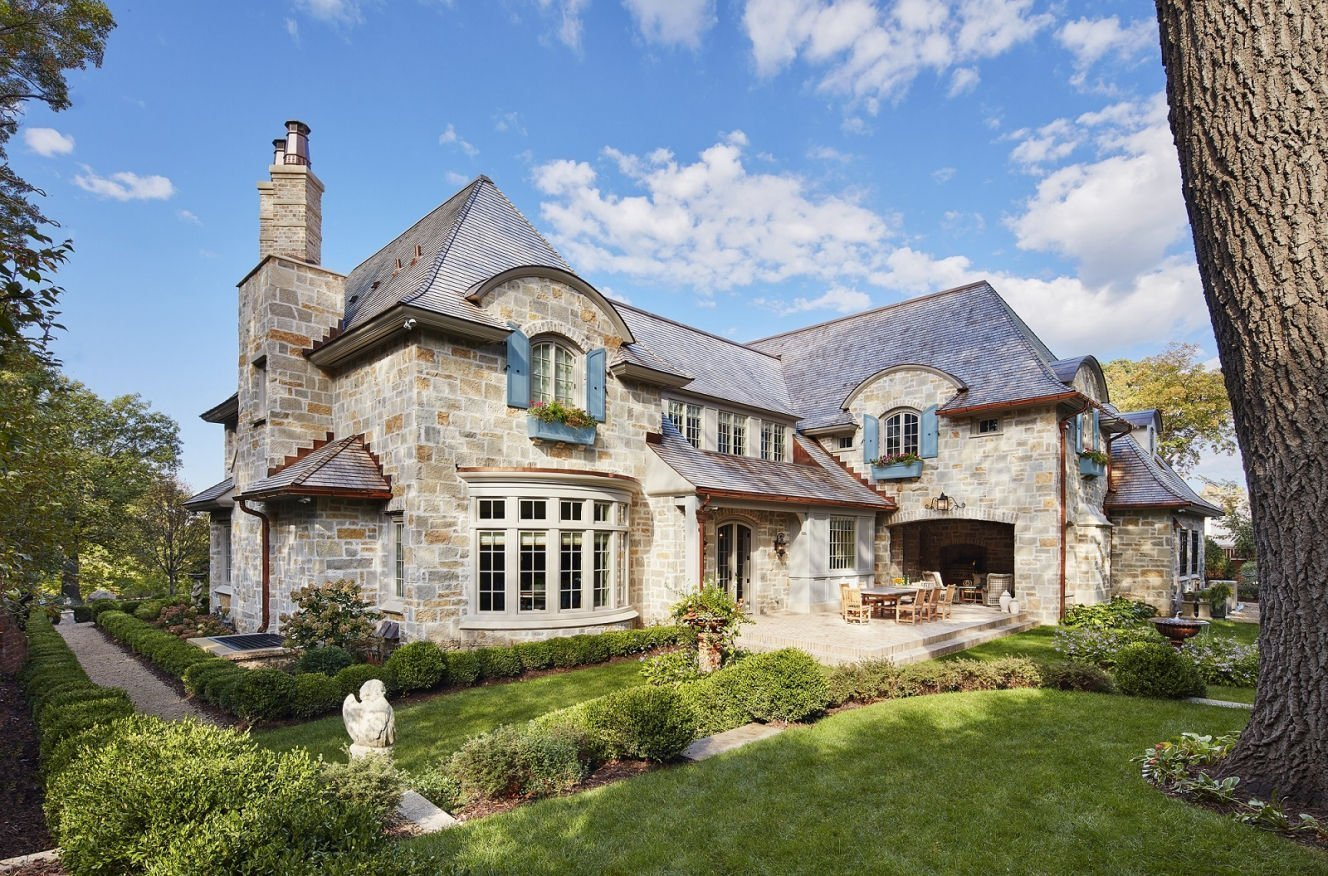 St. Paul French Country home