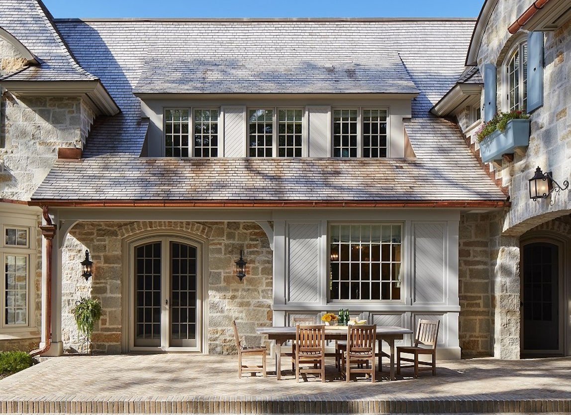 St. Paul French Country patio